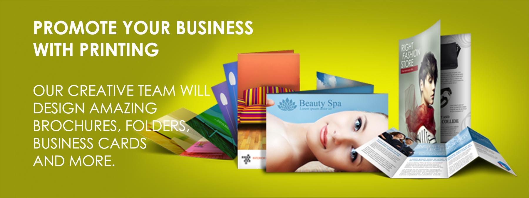 Graphic Design Printing Services